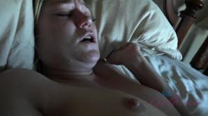 You wake Chloe and fuck her tight asshole.
